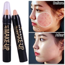 6 Color Women Long-lasting Concealer Stick Highlight Bar Brighten Skin Waterproof Makeup