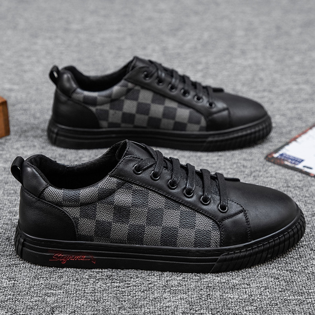 Casual Shoes Fashionable Leather Low