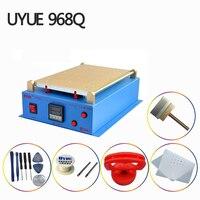 Uyue 968q máquina separador lcd 14 polegadas build in bomba de tela de vácuo máquina de reparo para telefones celulares tablet computador separador ferramenta|Conj. ferramentas elétricas| |  -