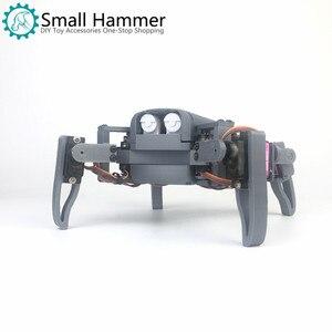 Робот-паук mg90s с четырьмя ножками, производитель комплектов, образование Nodemcu, Wi-Fi, управление телефоном