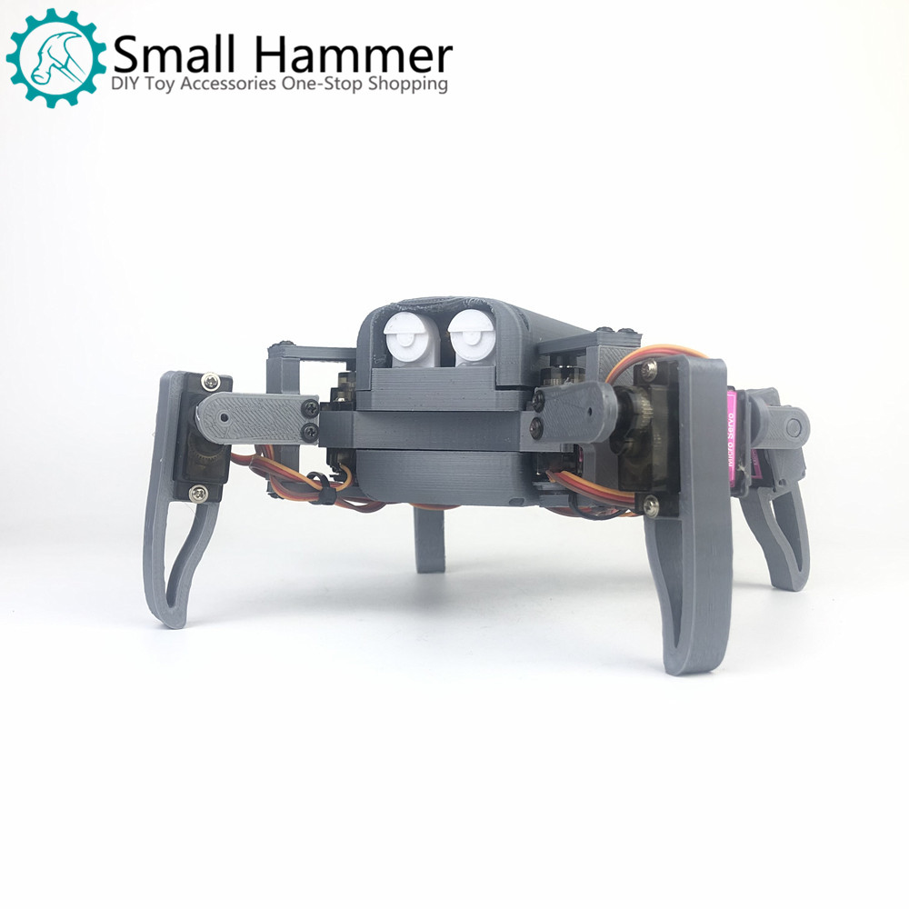Four-legged Spider Robot Mg90s Kit Maker Nodemcu Education WIFI Can Phone Control