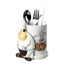 Chopsticks-Holder Rack Ceramics-Rack House-Dish Kitchen Chef And X4145 Forks Food-Knives