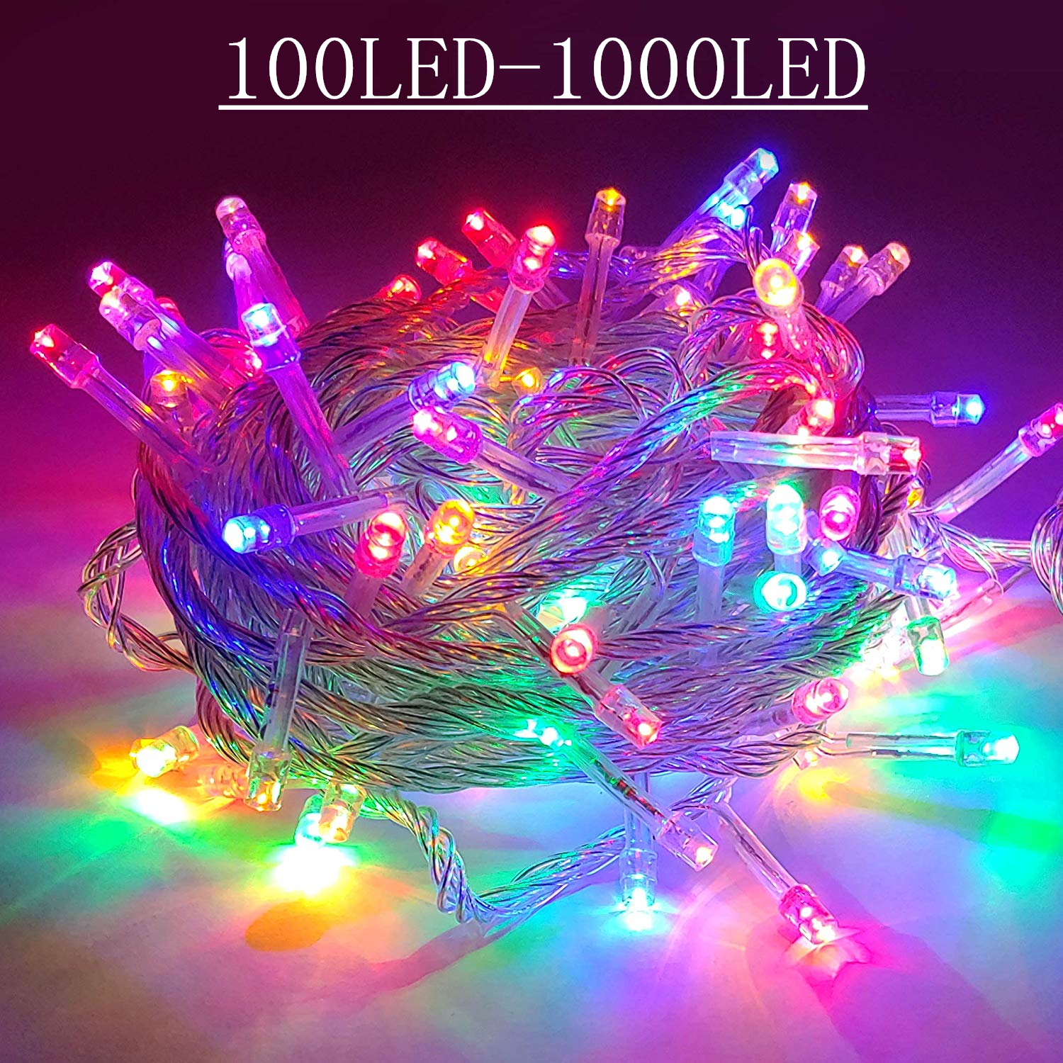 Led String Lights Garland Christmas Tree Fairy Light Luce Waterproof Home Garden Party Outdoor Holiday Wedding Decoration