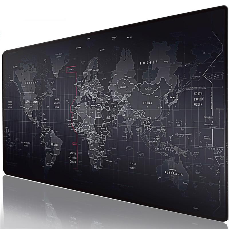 Alfombrilla de ratón para juegos Extra grande para Gamer de computadora, portátil Notebook teclado mediano/Pequeño alfombra alfombrilla de ratón alfombra antideslizante de goma para mesas alfombra