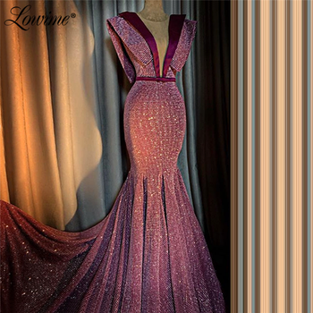 Vintage Mermaid Formal Evening Dresses Aibye Long Party Dress Robe De Soiree 2020 Capped Sleeves Prom Gowns Arabic Dubai - discount item  40% OFF Special Occasion Dresses