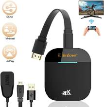 Pergelangan Kaki Mirascreen G5 2.4G 5G 4K Nirkabel HDMI Dongle TV Stick Miracast Airplay Receiver Dongle Wifi Cermin layar Streamer Cast(China)