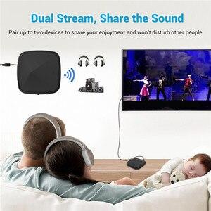 Image 2 - Bluetooth 5.0 オーディオトランスミッタ RCA 受信機 CSR8675/8670 AptX LL HD 3.5 ミリメートルジャック Aux SPDIF 用テレビ車のスピーカー