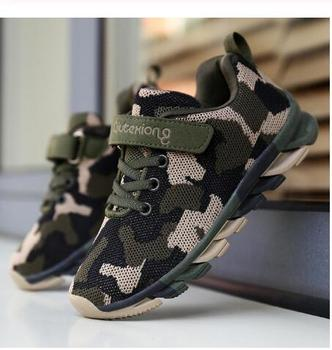Kids Sneakers Boys Children Sports Shoes Casual Boy Sneakers Camouflage Kids Shoes For Children Girls Air Mesh Outdoor Trainers kids shoes spring girls pu leather sneaker boy flats children shoes waterproof boots kids girls sneakers for girls trainers 838d