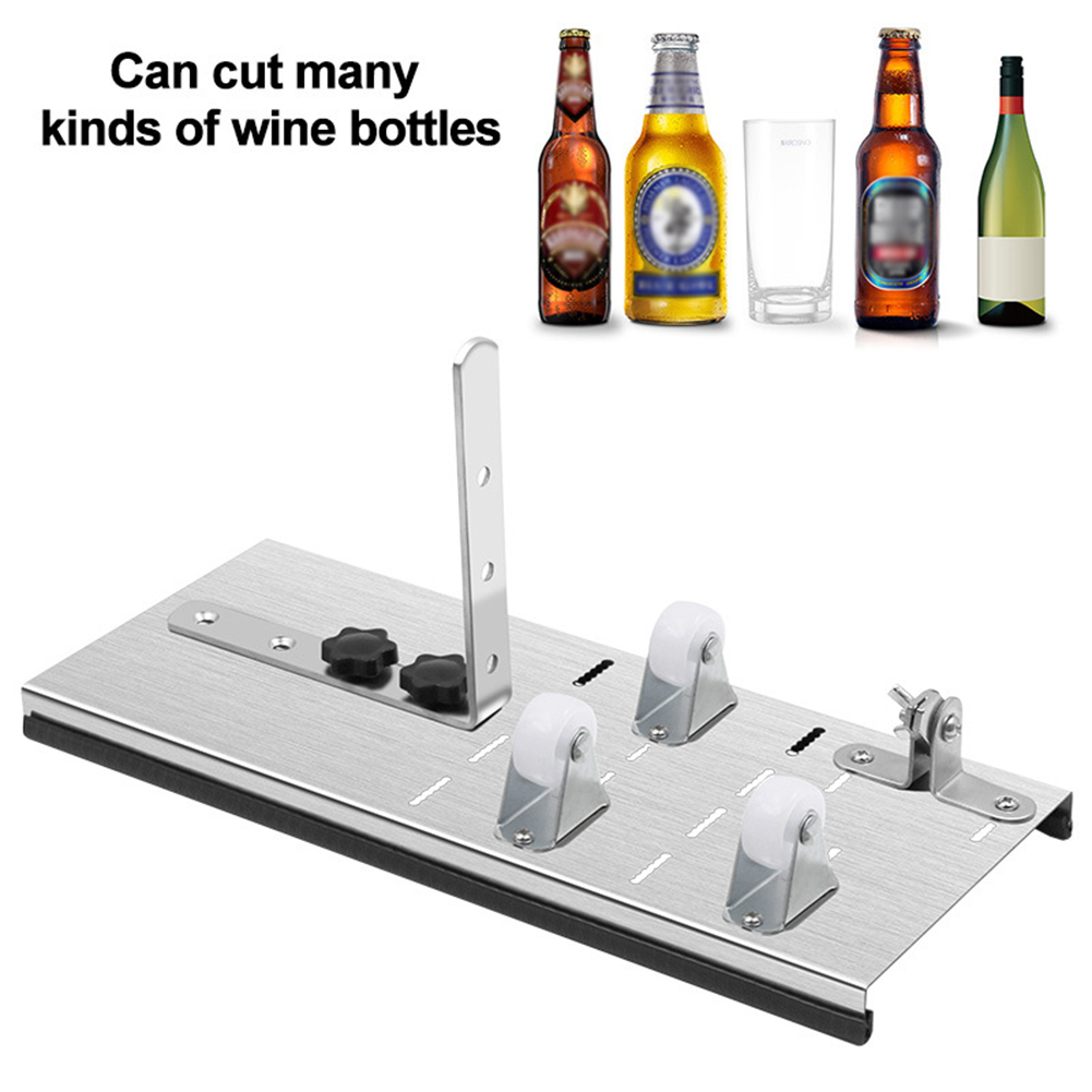 Original Multi Types Glass Bottle Cutter Tool Stainless Steel DIY Tool Wine Beer Bottles Crafts Wine Beer Liquor Bottle Cutting