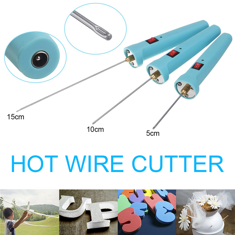 NEW Professional Foam Cutter 18W 5CM/10CM/15M Electric Foam Polystyrene Cutting Machine Pen Portable Styrofoam Cutting Tools