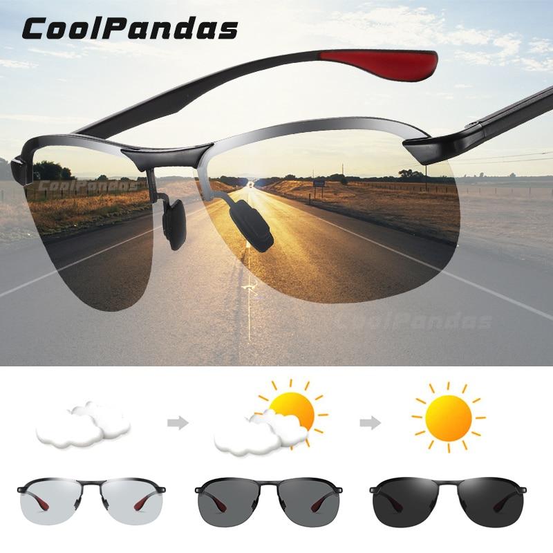 Фотохромные солнцезащитные очки для мужчин и женщин, поляризационные очки для вождения, солнцезащитные очки для мужчин и женщин 2020