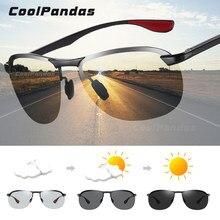 Lunettes de soleil photochromiques pour hommes et femmes, verres polarisés, pour la conduite, 2020