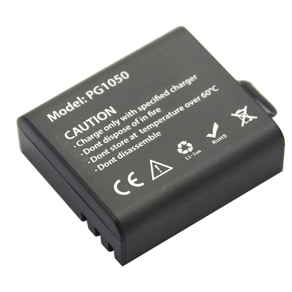 Usb Dual Charger + 2 Pcs 1050 Mah Rechargeable Li-Ion Camera Battery For Eken H9 H9 Pro Sport Action Camera