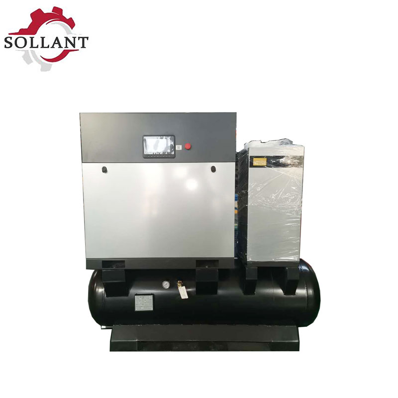 screw air compressor 4 in 1?air compressor?Cold dryer?gas tank?Cheap parts?380v/50hz/3phase