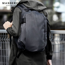 купить MANBERCE 2019 New Style Korean Simple Fashion Tide Schoolbag Backpack for Campus Leisure Large Capacity Travel Bag Free Shipping по цене 2256.8 рублей