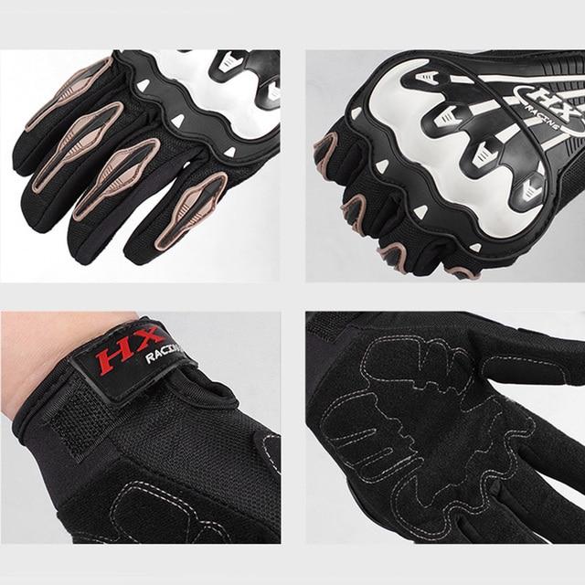 Motorcycle gloves off-road motobike scooter four seasons gloves For Kawasaki ER-6F ER-6N ZX-6 ZZR600 ZX9R Z750 NINJA 650R Z750S