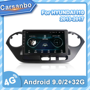 Carsanbo 4G LTE GPS Radio Android 9.0 Multimedia Stereo for HYUNDAI I10 2014 2015 2016 2017 Car DVD Player Navigation