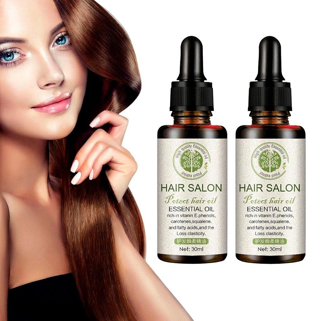 2 шт. для роста волос мощное средство для борьбы с выпадением марокканский Эфирное Масло жидкое обработка предотвращает выпадение волос уход за волосами для наращивания волос