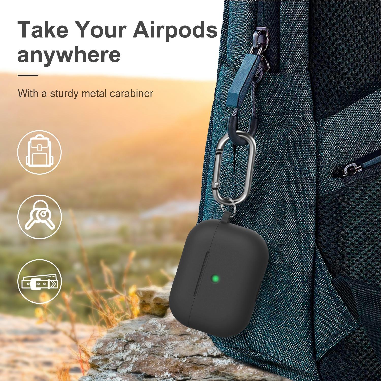 Liquid Soft Silicone Case für Airpods Pro Case Wireless Bluetooth - Tragbares Audio und Video - Foto 3