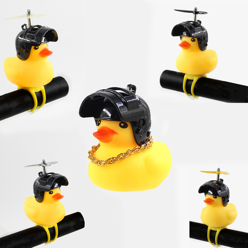 LY0123 Cute Little Yellow Duck Child Rubber Toy For Children Bathing To Soothe Lovely Yellow Duck Bath Toys 6 Style To Choose