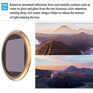 Image 5 - CPL ND8 ND16 ND32 nötr yoğunluk Lens filtre Sticker kapak Gopro Hero 8 siyah eylem kamera filtreleri aksesuarları