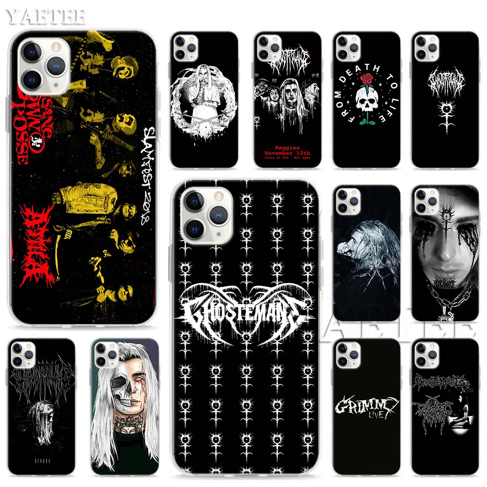 Mercury Retrograde Ghostemane Soft <font><b>Case</b></font> for <font><b>Apple</b></font> <font><b>iPhone</b></font> 11 Pro Max XR XS MAX 6 6S 7 8 Plus 5S SE <font><b>Sillicone</b></font> TPU Shell Cover image