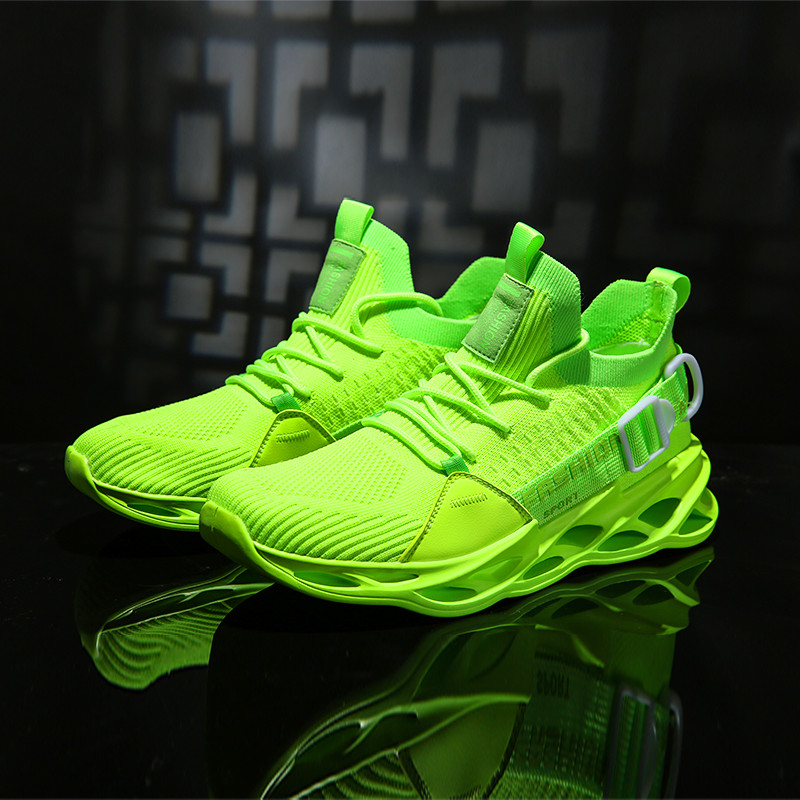 Running Shoes For Men Cushioning Blade Sneakers Outdoor Breathable Walking Jogging Sport Shoes  New Trend Zapatos Hombre Sapatos