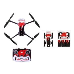 Image 3 - Pegatinas para drones de colores para DJI Mavic Air 2, película protectora decorativa cuerpo de Dron + mando a distancia + 3 protector de batería