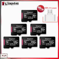 Original Kingston New Micro SD Card флешка 16GB 32BG 64GB 128GB 256GB 512GB Memory Card Free Shiping OTG Adapter Microsd Cards