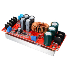 1pc New 1200W 20A DC Converter Power Supply Module Step-up in 8-60V 12-83V Continuous Adjustable Boost Module