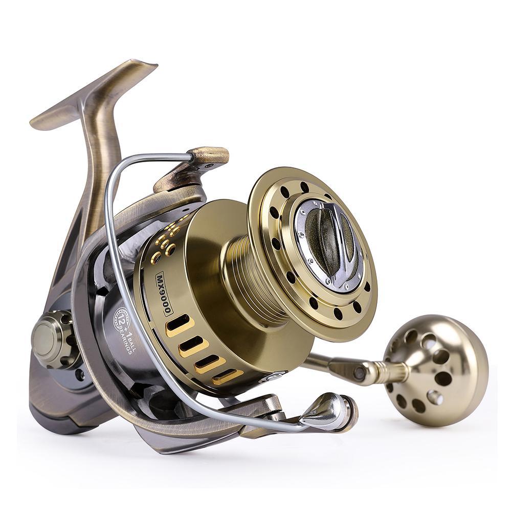 Studyset metal anti-mar carretel de pesca 40
