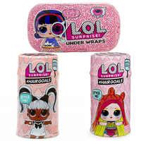 Sorpresa muñecas Color cambio huevo confeti pop Series vestido LOL muñeca bola acción figura niños juguetes para niños Navidad