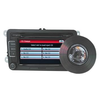 Автомобильное радио RCD510 FM CD MP3 плеер AUX USB RVC/с кодом камеры заднего вида для VW Golf Passat CC Tiguan Polo Golf MK5 MK6 Jetta