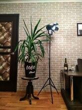 2 חבילה תעשייתי יצירתי רטרו חצובה שחור מנורת רצפת אורות חדר אורות Stand מנורות