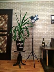 Image 1 - 2 חבילה תעשייתי יצירתי רטרו חצובה שחור מנורת רצפת אורות חדר אורות Stand מנורות