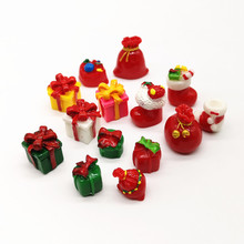 30pc Christmas Gifts Ornament Model Figurine Home Glass Bonsai Decor Miniature Craft Garden Fairy Decoration