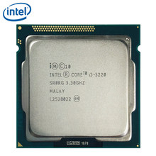 インテル Core i3-3220 i3 3220 3.3 Ghz デュアル Cpu プロセッサ 3 メートル 55 ワット LGA 1155 テスト 100% 作業