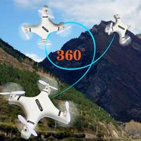 Mini Vier-achsen RC Flugzeug 2,4G Drone RC Quadcopter Aircraft LED Drone One-Taste Rückkehr Geschenke Kinder außen Fernbedienung Spielzeug