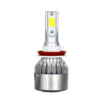 H11/H9/H8 3800LM/Bulb Car Motorcycle Headlight LED Headlight Bulbs 6000K White Kit High Low Beam Car Lights 120W image