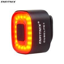 Enfitnix Auto Bremse Rennrad Hinten Licht Smart Sensor Radfahren MTB Rücklicht USB Gebühr Fahrrad LED Atmungsaktive Auto Sensing Licht