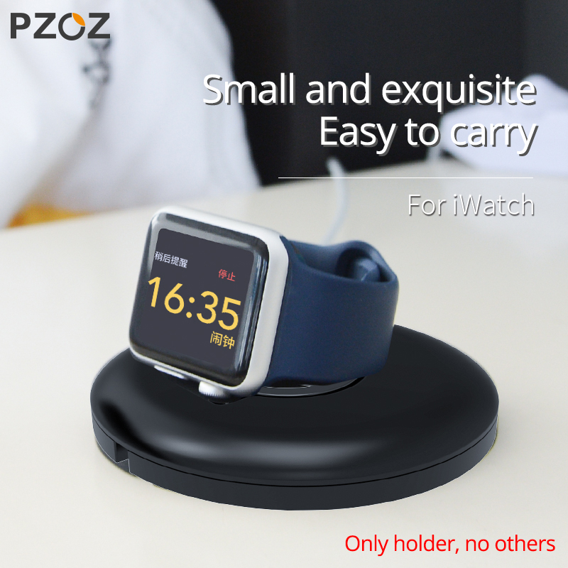 PZOZ For Apple Watch Charger Holder Bracket For Apple Watch Iwatch 5 4 3 2 1 Series Wireless Charging Stand Watch Accessories