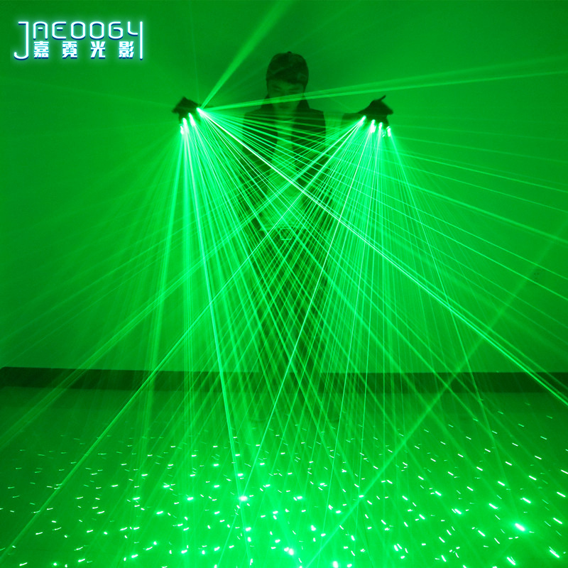 Image 2 - 2 in 1 New High quality green laser gloves nightclub bar party 