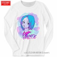 купить Men Vaporwave Awesome Long Sleeve Print T-shirts Unisex Harajuku Funny T Shirts Long Sleeve T Shirt Men Streetwear дешево