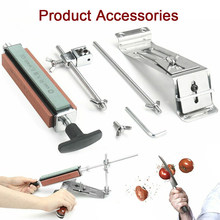 Hoomall Professional Knife Sharpener Stainless Steel Kitchen Knife Sharpener Tools Sharpening Machine Fix Fixed Angle With Stone(China)