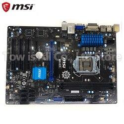 Placa madre de escritorio original MSI B85-IE35 B85 DDR3 Socket LGA 1150 placa madre de estado sólido integrado en tableros de venta