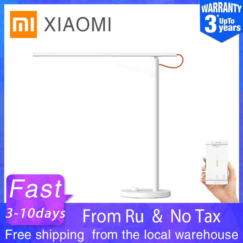 Xiaomi Mijia Mi Lampu Meja LED Smart Membaca Lampu Meja Kantor Mahasiswa Table Light Portabel Lipat Bedside Night Light Akses Internet Nirkabel mihome Aplikasi
