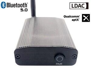 Image 1 - LDAC50 CSR8675 V5.0 Bluetooth LDAC aptx до 24 бит/96 кГц коаксиальный Оптический цифровой аудио Bluetooth аудиоресивер Bluetooth 5,0