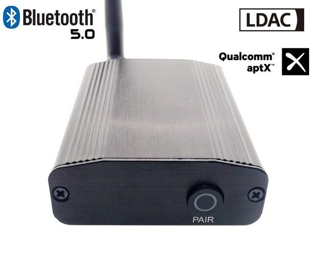 LDAC50 CSR8675 V5.0 Bluetooth LDAC aptx до 24 бит/96 кГц коаксиальный Оптический цифровой аудио Bluetooth аудиоресивер Bluetooth 5,0