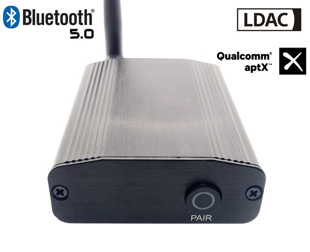 LDAC50 CSR8675 V5.0 Bluetooth tecnología LDAC aptx para 24bit/96khz Coaxial de Audio Digital óptico receptor de Audio Bluetooth 5,0