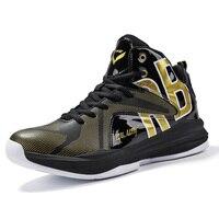 Homens Basketball Shoes Alta Top Tênis De Basquete Não-deslizamento Sapato Esportes Ao Ar Livre para Ankle Boots Trainer баскетбольные кроссовки